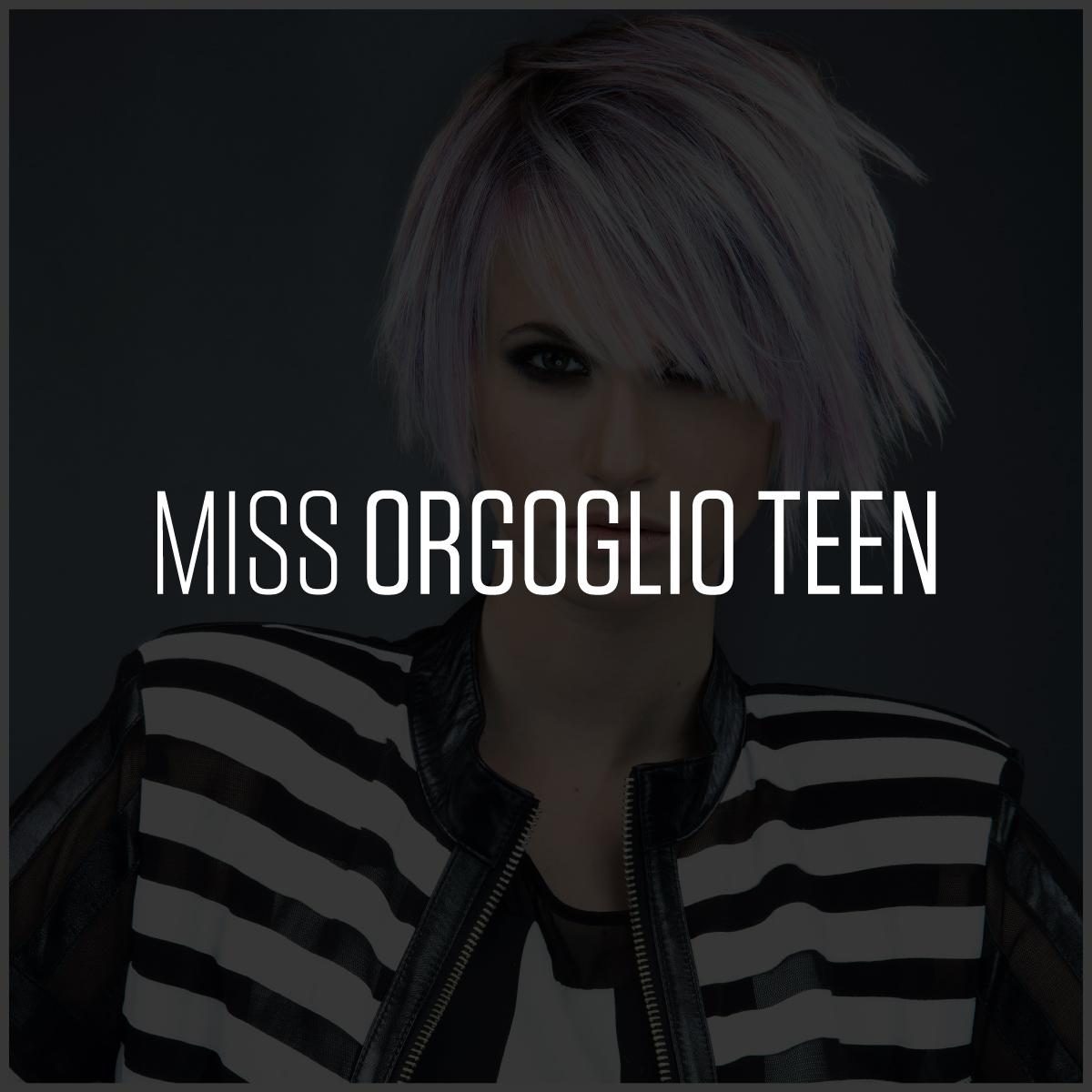 Miss Orgoglio Teen | Compagnia Della Bellezza | Collezione Miss l'era del coraggio | 2015